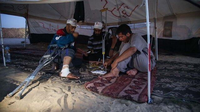 İsrail saldırılarıyla sarsılan Gazzelilerin hayat şartları oldukça zor...