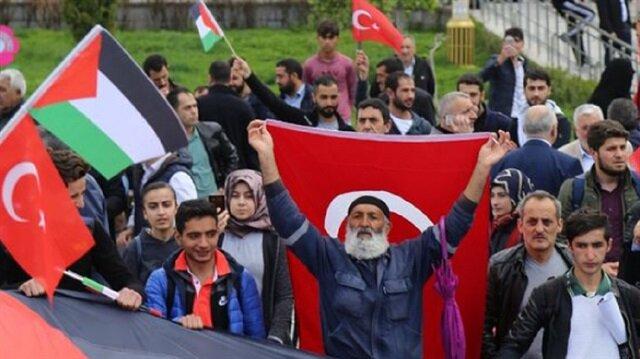 تركيا تنهض على أقدامها من أجل القدس