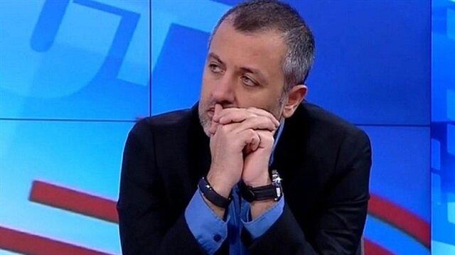 Spor yazarı ve yorumcusu Mehmet Demirkol.
