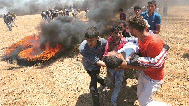 Filistinlilerden 54'ünün bitkisel hayatta olduğu bildirildi.