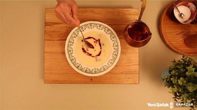 Gaziantep mutfağının temsilcilerinden, etli düğün çorbası.