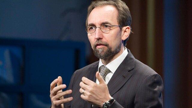Birleşmiş Milletler (BM) İnsan Hakları Yüksek Komiseri Zeyd Raad El Hüseyin