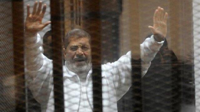 Mursi, Mısır'da 2013'te gerçekleşen askeri darbeyle görevden alındı.