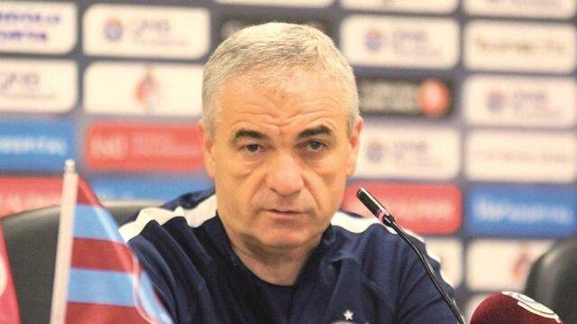 Trabzonspor Teknik Direktörü Rıza Çalımbay