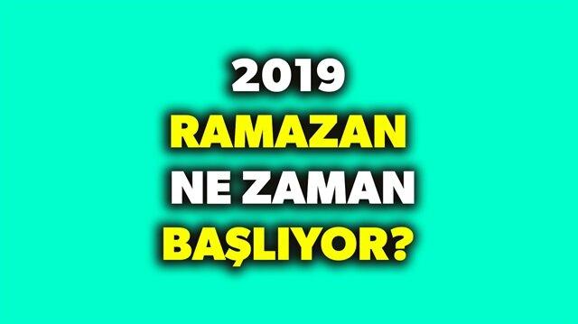 2019 Ramazan ayı orucu ne zaman? sorularının yanıtı haberimizde.