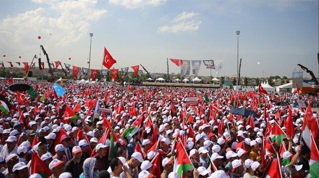 مئات الآلاف في إسطنبول يكتبون التاريخ بنصرتهم للقدس