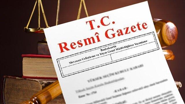 Vali atamaları kararı Resmi Gazete'de yayımlandı.