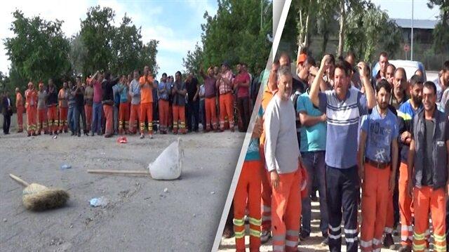 CHP'li Edirne Belediyesi çalışanları süpürge attı, kontak kapattı