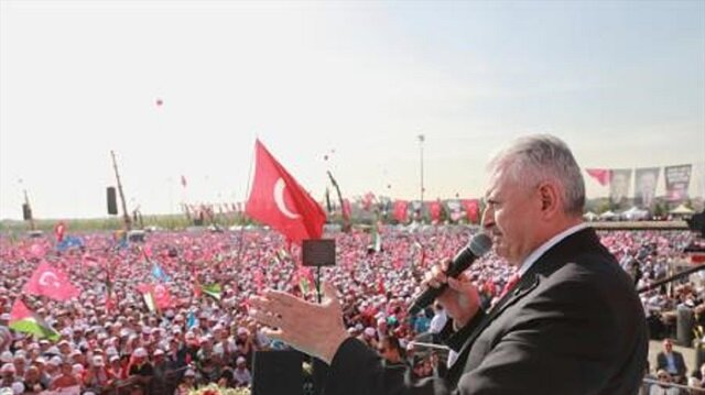رئيس الوزراء التركي يعتبر القضية الفلسطينية قضيتهم