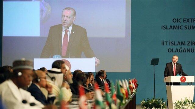 الرئيس التركي : يد أمريكا تلطخت بالدم الفلسطيني وإسرائيل تمارس الإرهاب