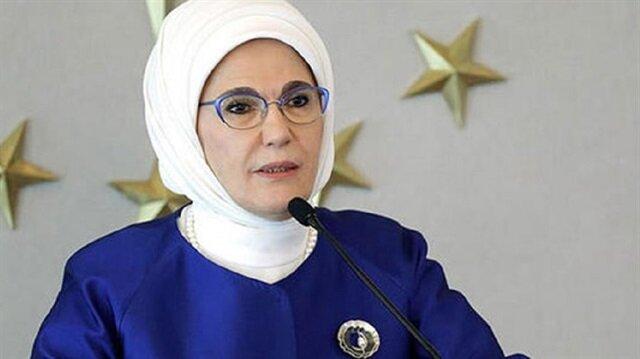 سيدة تركيا الأولى تعتبر القدس تراث مشترك للإنسانية وقرة أعيننا