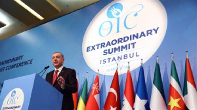 الرئيس التركي يجري سلسلة لقاءات في إطار قمة إسطنبول الطارئة