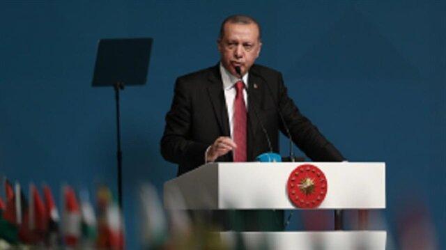 أردوغان: على المسلمين أخذ حقوقهم بأنفسهم