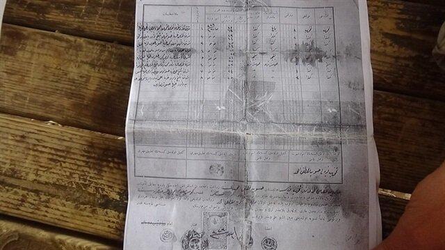 Mardin'de yaşayan Ali Aşa evinde tadilat yaparken küpler içinde Osmanlı dönemine ait tapular buldu.