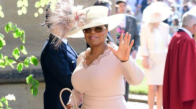 Oprah At Prince Harry Wedding.Stars Oprah Clooney And Beckham Shine At Royal Wedding