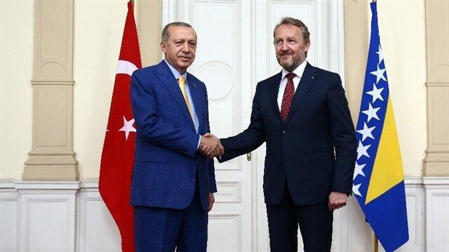 Cumhurbaşkanı Erdoğan Bosna'da