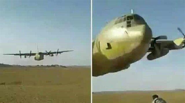 بالفيديو: طيار سعودي يستعرض مهاراته في التحليق بطائرة شحن على ارتفاع منخفض