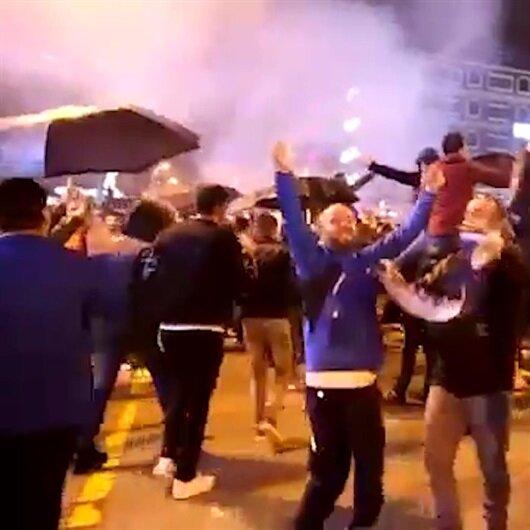 Erzurumlu taraftarların Süper Lig coşkusu