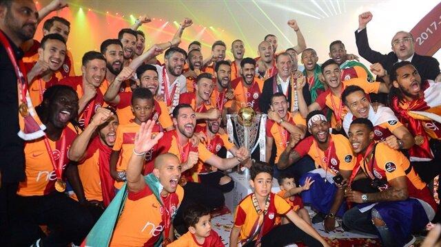 Galatasaray'dan ses getiren şampiyonluk kutlaması