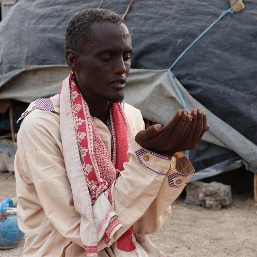 Etiyopyalı Muhammed'in duası bir damla su…