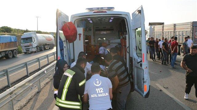 Manisa'daki kazada 12 kişi yaralandı