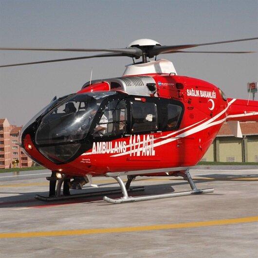 Ambulans helikopterler her yerde