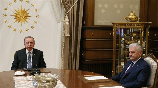 أردوغان يعقد اجتماعًا مع يلدريم بأنقرة