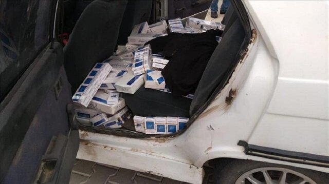 Over 18,000 contraband cigarette packs seized in Turkey