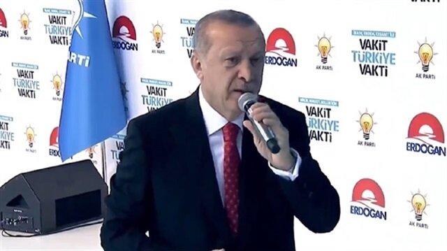 الرئيس أردوغان  يعلن البرنامج الانتخابي لحزب العدالة والتنمية
