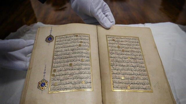 500-year-old Quran returns to Topkapı Palace