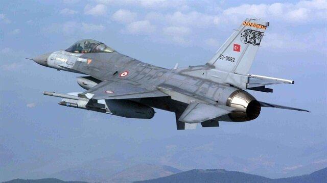 Terör örgütü PKK'ya yönelik hava harekatı düzenlendi.