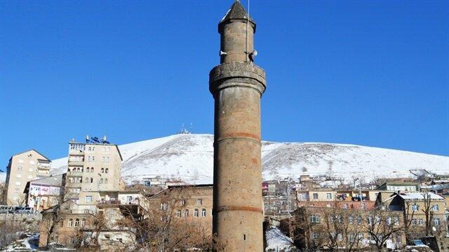 Beş minareli şehrin merkezi: Bitlis Ulu Camii
