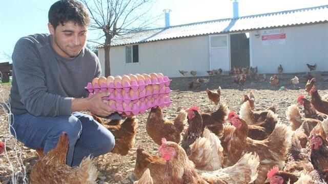 Genç çiftçiye 503 milyon TL hibe
