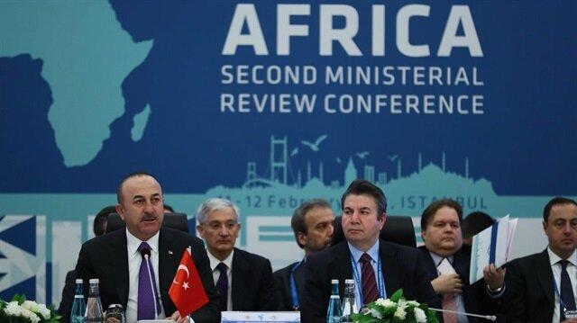 جاويش أوغلو: نهدف لافتتاح سفارات في كافة بلدان إفريقيا