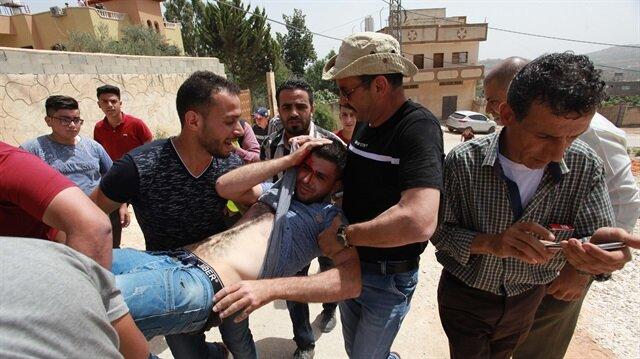 İşgalci İsrail güçleri Şeria'daki göstericilere saldırdı