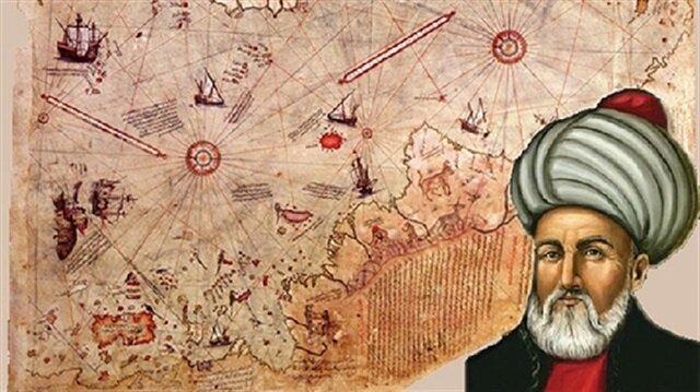 """Piri Reis, denizcilik tarihinin ilk kılavuz eseri """"Kitab-ı Bahriye""""yi yazdı."""
