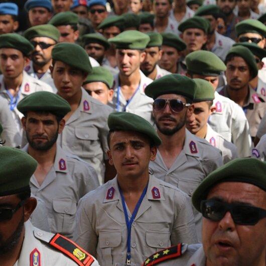 Suriyeli polisler Afrin'de göreve başladı