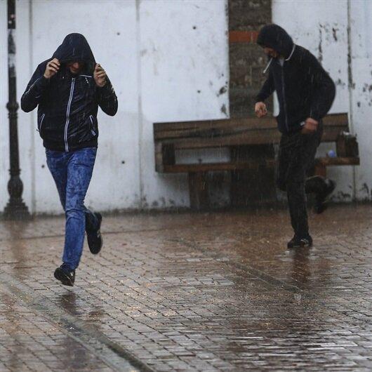 5 ile kuvvetli yağış uyarısı