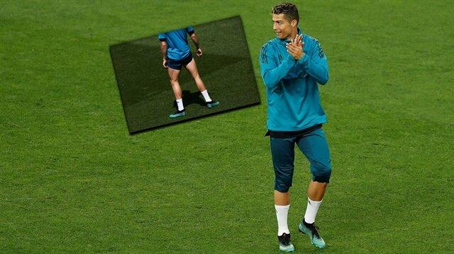 Cristiano Ronaldo'nun görüntüsü şaşkına çevirdi