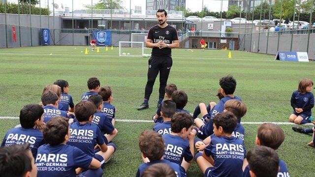 Serhat Akın PSG'nin futbol okuluna teknik direktör oldu