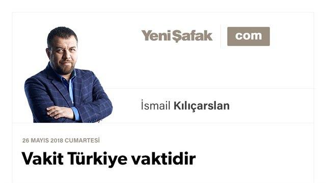 Vakit Türkiye vaktidir