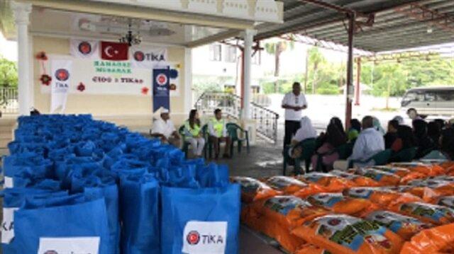 مساعدات تيكا التركية تصل مسلمي غيانا في أمريكا الجنوبية