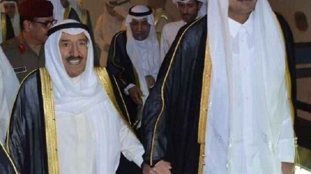 أمير قطر في الكويت الإثنين في أول زيارة منذ بدء الحصار
