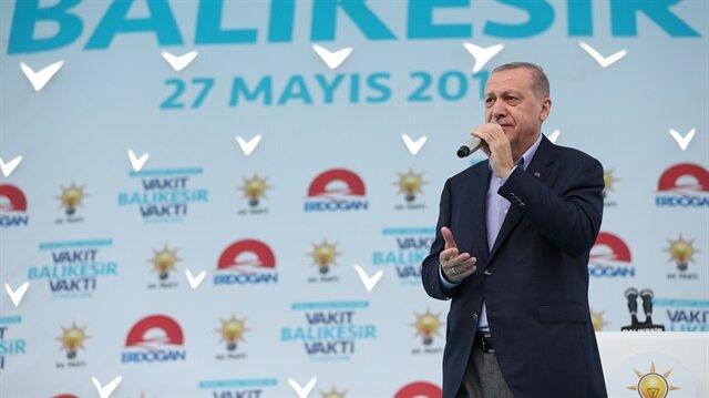 Cumhurbaşkanı Erdoğan: İnce'yi işletmişler
