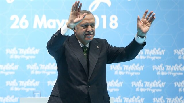 Erdoğan praises Turkish police's anti-terror efforts