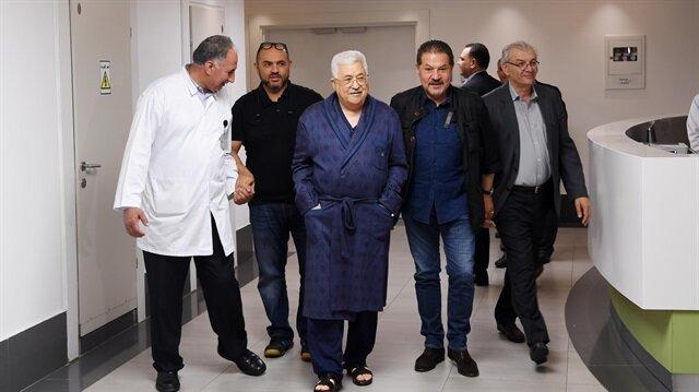 Abbas set to leave Ramallah hospital
