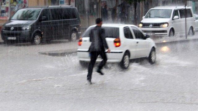 3 ile kuvvetli yağış uyarısı