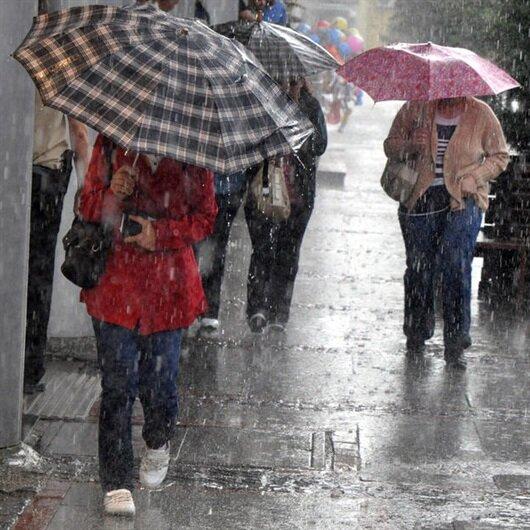 Meteorolojiden 7 ile sağanak yağış uyarısı