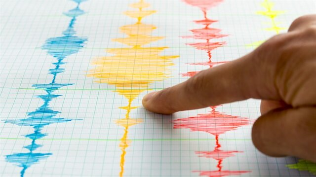 Ege açıklarında 4,1 büyüklüğünde deprem meydana geldi.
