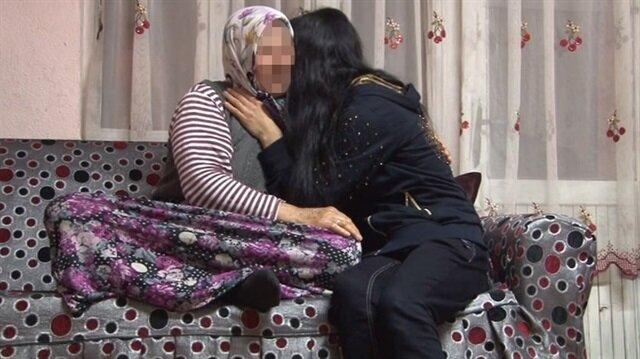 Mezarlıkta yakalanan kızın ailesinden medyaya tepki.